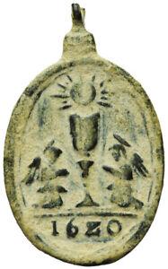 Antigua medalla religiosa S. XVII