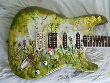 Voodoo Vibe Stratocaster Body, Custom Painted