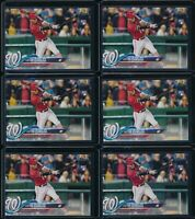 2018 Topps Series 1 Victor Robles 6 Base Card RC Lot #166 Rookie Nationals