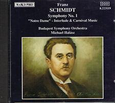 CD album: Franz Schmidt: Symphony N°1. Michael Halasz. Marco Polo. J