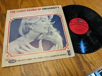 RARE 1966 FORD MUSTANG ADVERTISING LP RECORD LIVELY SOUND OF UNIVERSITY CUSTOM