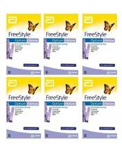 FreeStyle Optium Blood ß-Ketone Test Strips 10 x 6 original box EXP 09/21