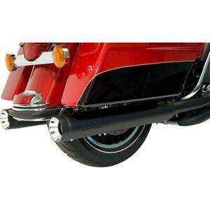 "Harley Supertrapp Scarico Stout Slip-On Marmitte Touring 17-20 Nero 4 """