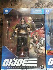g.i. joe classified set Zartan, Roadblock, Destro, Scarlett, Snake Eyes, Cobra
