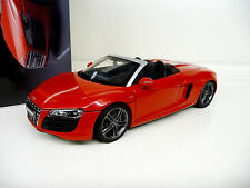 1:18 Kyosho Audi R8 Spyder 5.2 V10 Brilliant red rot NEU NEW