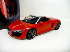 1:18 Kyosho Audi R8 Spyder 5.2 V10 Brilliant red rot NEU NEW
