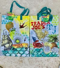 Trader Joe's  Reusable Shopping Eco Bag  ( 2 bag) Florida TJ