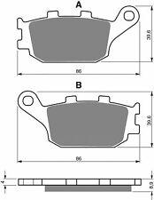 2 PAIR 2010-2016 HONDA CB 1000 R FRONT S33 CERAMIC CARBON BRAKE PADS