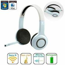 schnurloses Logitech Headset H609 Bluetooth Wireless + Bluetooth USB Stick OVP