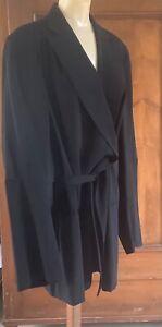 Ann Demeulemeester...A Wool Oversized Blazer..!