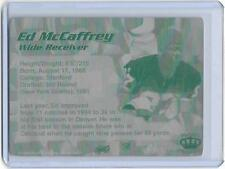 1/1 ED MCCAFFREY STANFORD BRONCOS NY 1996 Pacific Printing Press Plate 1 of 1