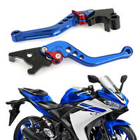 Brake Clutch Levers For YAMAHA YZF R3 R25 MT 25 2015-2017 Blue A8