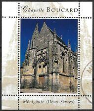 FRANCE Ménigoute (Deux-Sèvres) Chapelle BOUCARD MNH OG / CTO Cinderella Stamp