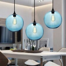 Kitchen Pendant Light Blue Glass Pendant Lighting Home Lamp Modern Ceiling Light