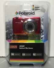 Polaroid i20X29 Red Digital Camera with 20 MegaPixels & 10x Optical Zoom Sealed