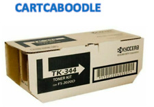Genuine Kyocera TK-344 BLACK Toner -  FS-2020D - 12,000 pages -  TK344