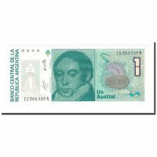 [#168303] Banknote, Argentina, 1 Austral, Undated (1985-89), Km:323a, Unc(65-70)