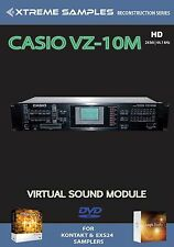 XTREME samples Casio vz-10m HD VIRTUAL SOUND MODULE Logic exs24 | Ni contatto
