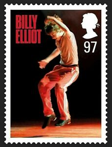Billy Elliot the Musical illustrated on 2011 stamp