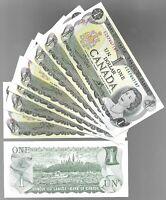 Canada One 1 Dollar $1 (1973) UNC Banknote