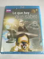 Lo Cosa Che Saber BBC - Blu-Ray Spagnolo Inglese Nuovo - 3T