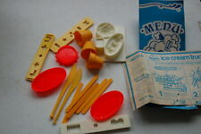 Vintage 1975 Kenner Play-Doh Ice Cream Truck Misc. Accessories