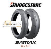 COPPIA BRIDGESTONE BATTLAX RS10 120/70 17 + 190/50 17