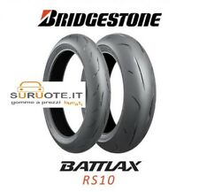 COPPIA BRIDGESTONE BATTLAX RS10 120/70 17 + 190/50 17