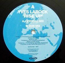 "Yves Larock - Rise Up - 2007 MAP DANCE: 33rpm 12"" (EX)"