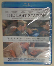 The Last Station (Blu-ray Disc, 2010) Brand New - Sealed