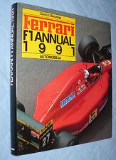 ENRICO BENZING FERRARI F1 ANNUAL 1991 AUTOMOBILIA FORMULA UNO AUTOMOBILISMO
