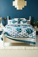 Anthropologie Garden queen duvet cover rare sold out new in packaging