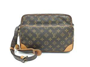 """Auth Louis Vuitton Vintage Monogram Nile Shoulder Bag 1F230070n"""""""