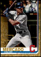 Oscar Mercado 2019 Topps Update 5x7 Gold #US28 RC /10 Indians