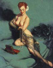 Gilette Elvgren Fascination Canvas Print 16 x 20     #4709