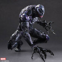 Play Arts KAI Spiderman Venom Marvel Universe Variant Action Figure With Box