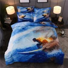 Extreme Sports Surf Gliding Quilt Doona Duvet Cover Set Pillowcase Single Bed AU