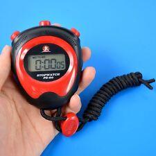 Digital LCD Chronograph Running Stopwatch