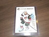 2017-18 UD SP Authentic Future Watch #188  kyle capobianco
