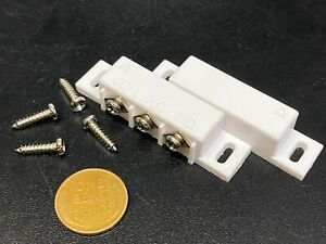 Magnetic Reed Switch Normally Open or Closed NC NO Door Alarm Window Security G3
