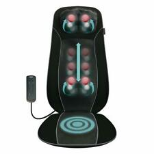 Salter Full Back + Neck Massager Shiatsu Deep Kneading Massage Chair Pad Seat