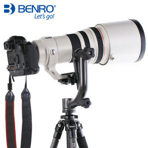 Benro GH2 Gimbal Head Panoramic Head w PL100 Plate Tripod Head   DSLR Camera