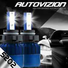 AUTOVIZION LED 6000K Foglight kit 5202 12086 H16 GMC Sierra 2500 HD 2007-2016
