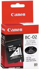 GENUINE CANON INK CARTRIDGE BC-01,BC-03,BC-02 For BJ-100 BJ-200 BJC-200