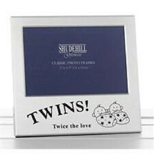 Shudehill Giftware Twins Twice The Love 5 X 3.5 Photo Picture Frame 73475