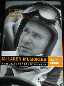 BRUCE MCLAREN MEMORIES EOIN YOUNG TASMAN SERIES LE MANS 24 HEURES 1966 CAN AM F1