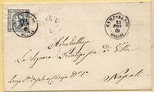 23.11.1863 Lerrera da Campobasso per Napoli