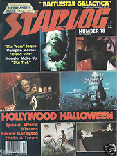 Starlog #18 Battlestar Galactica Star Wars ESB Special Effects Wizards