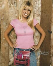 **GFA Extreme Makeover: Home Edition *PAIGE HEMMIS* Signed 8x10 Photo P4 COA**