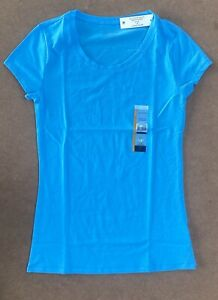 NO BOUNDARIES Ladies LIGHT BLUE T-Shirt, Junior Size MED (7 - 9) *New With Tags*